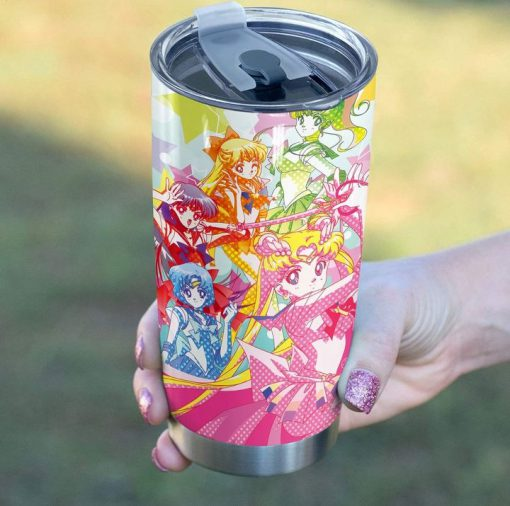 Sailor Moon personalized tumbler1