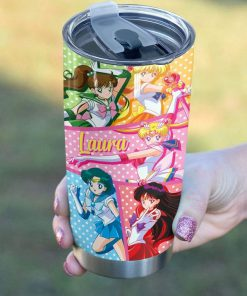 Sailor Moon personalized tumbler2