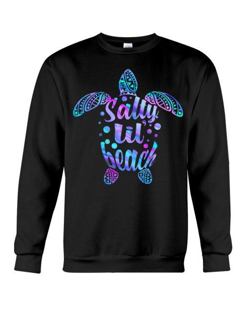Salty Lil' Beach turtle Sweatshirt