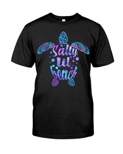 Salty Lil' Beach turtle T-shirt