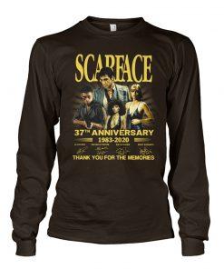 Scarface 37th Anniversary Long sleeve