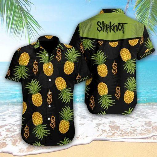 Slipknot Pineapple Tropical Hawaiian Shirt