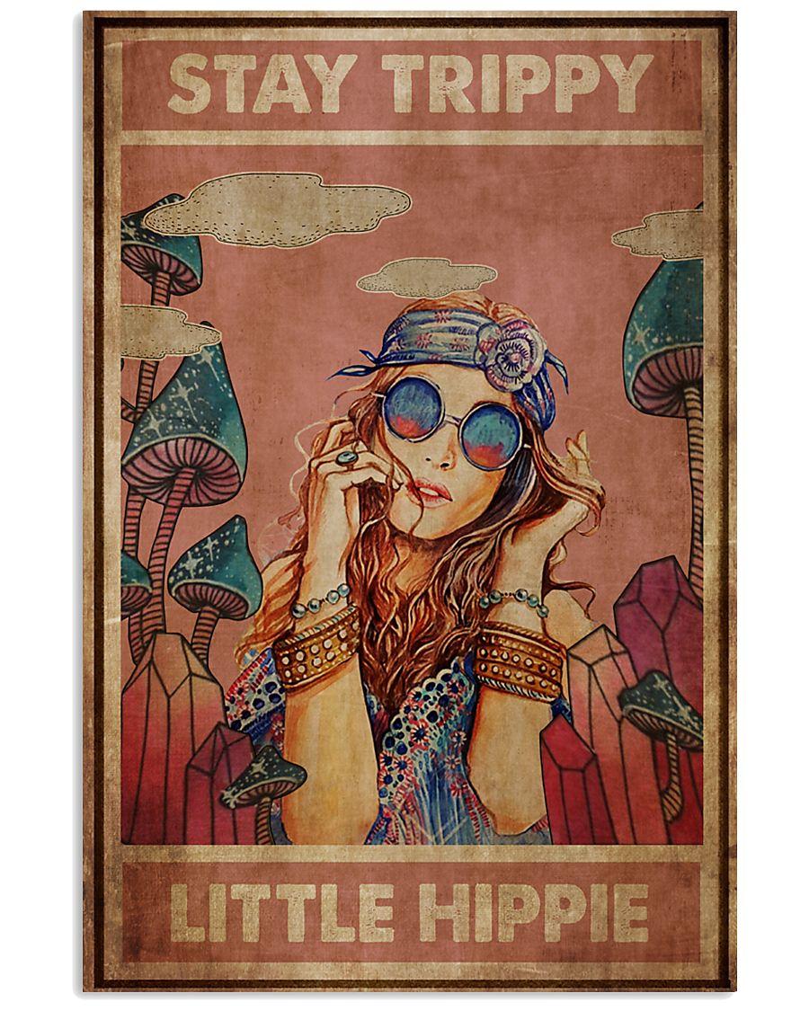 Amazing Stay Trippy little hippie poster