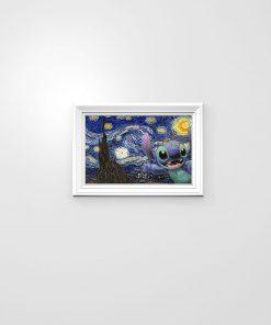 Stitch - Starry Night poster 2