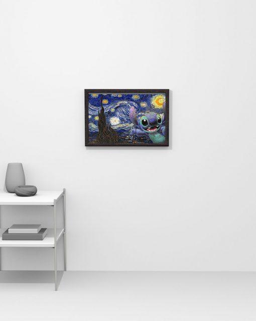 Stitch - Starry Night poster 3