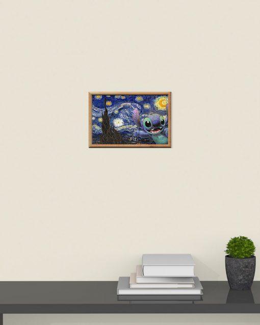 Stitch - Starry Night poster 4