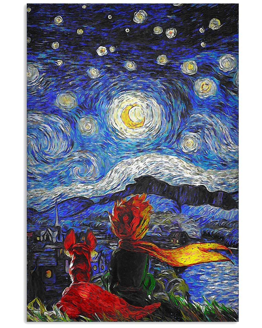 Top The Little Prince Starry Night art poster