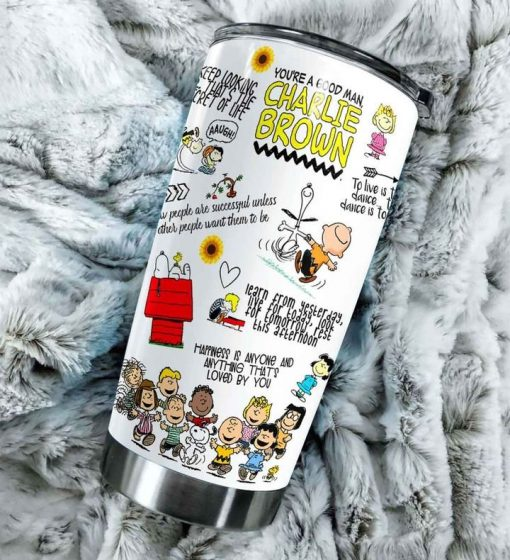 The Peanuts Gang Snoopy personalized tumbler 3