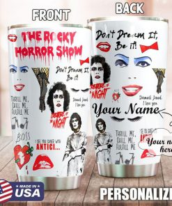 The Rocky Horror Show personalized tumbler