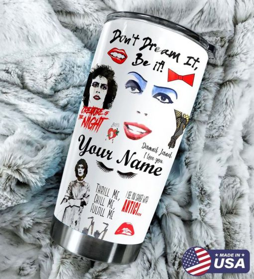 The Rocky Horror Show personalized tumbler1
