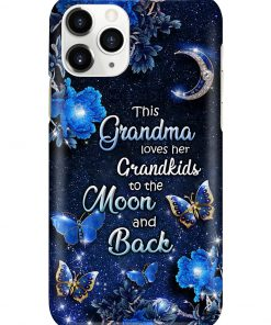 This grandma loves her grandkids to the moon and back phone case 11