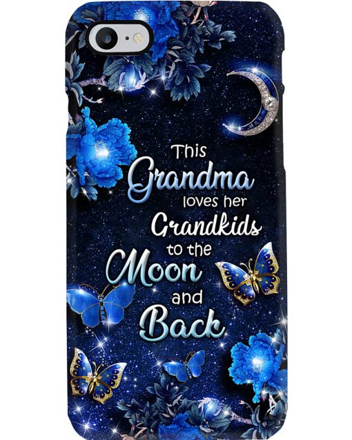 This grandma loves her grandkids to the moon and back phone case 7
