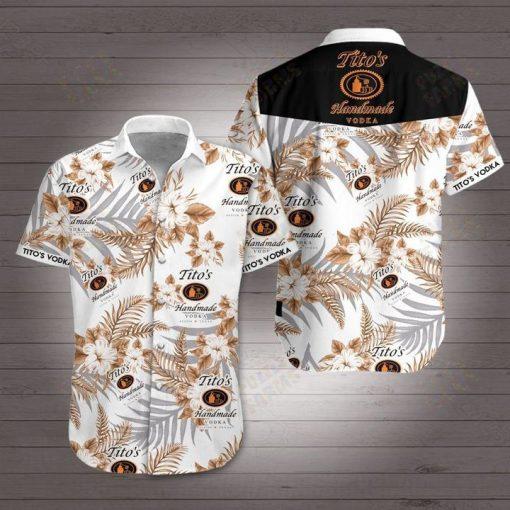 Tito's Handmade Vodka Hawaiian shirt