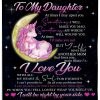 To my daughter At times I may upset you Sometimes I will make you mad But you'll never find another mom that loves you more than me Unicorn fleece blanket
