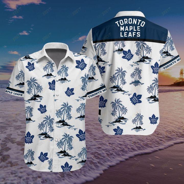 Toronto Maple Leafs Hawaiian shirt