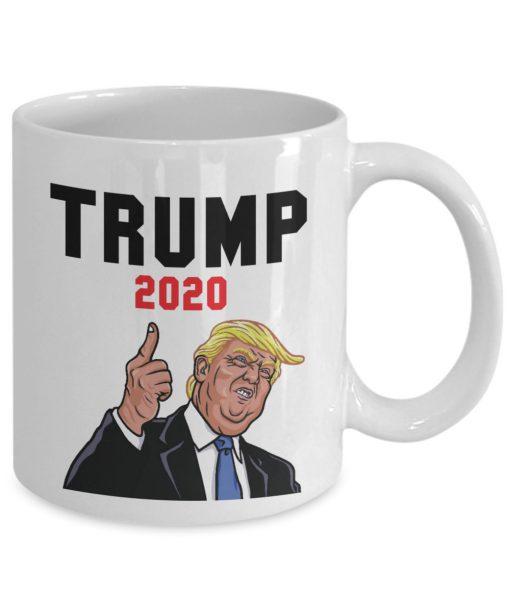 Trump 2020 Fuck coffee mug 2