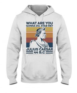 What are you gonna do Stab me Julius Caesar 44 BC hoodie