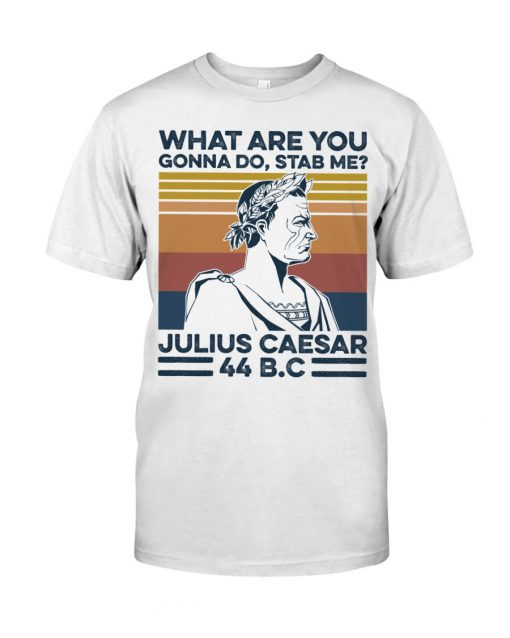 What are you gonna do Stab me Julius Caesar 44 BC shirt