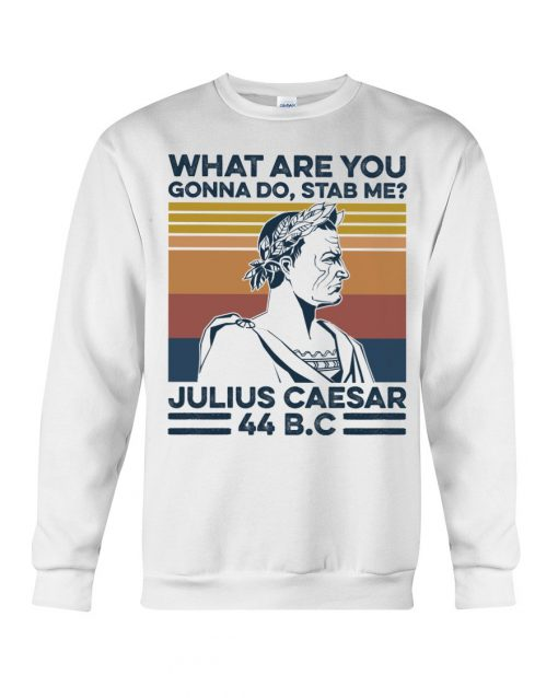 What are you gonna do Stab me Julius Caesar 44 BC sweatshirt
