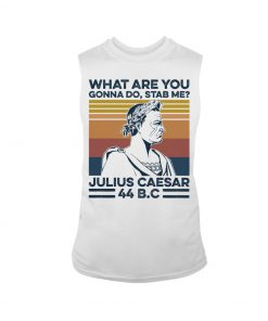 What are you gonna do Stab me Julius Caesar 44 BC tank top