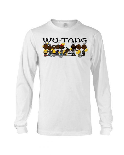 Wu Tang Clan Black Charlie Brown - Peanuts Long sleeve