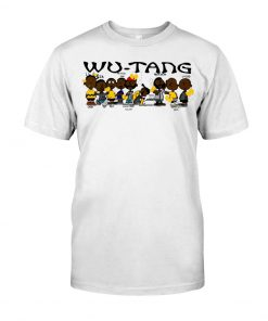 Wu Tang Clan Black Charlie Brown - Peanuts T-shirt