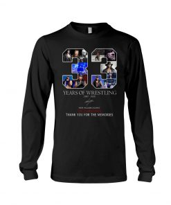 33 Years of wrestling 1987-2020 Mark William Calawy The Undertaker long sleeved