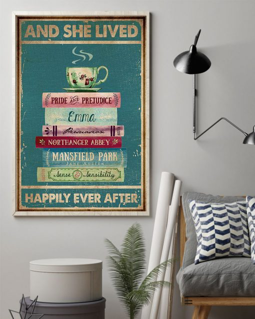 And she lived happily ever after Book poster 2