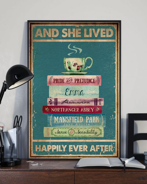 And she lived happily ever after Book poster 3