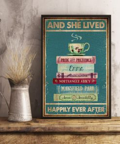 And she lived happily ever after Book poster 4
