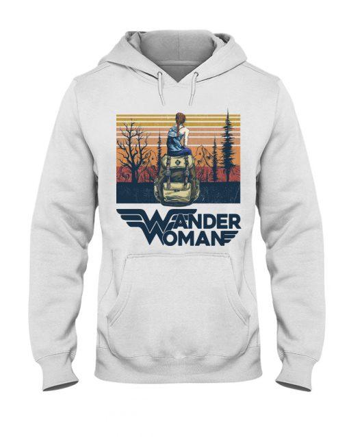 Camping Wander Woman vintage hoodie