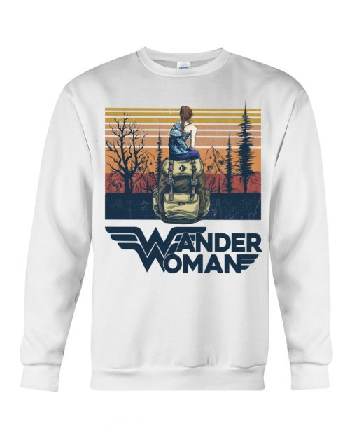 Camping Wander Woman vintage sweatshirt