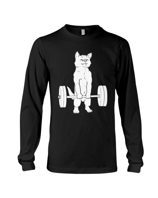 Cat and Gym Long sleeve