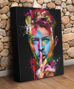 David Bowie Painting Art gallery wrapped canvas 1