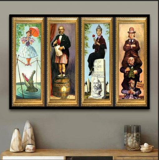 Disney Haunted Mansion Stretching Room Poster