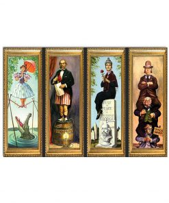 Disney Haunted Mansion Stretching Room Poster1