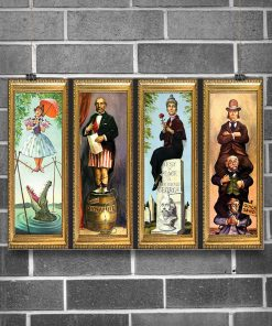 Disney Haunted Mansion Stretching Room Poster4