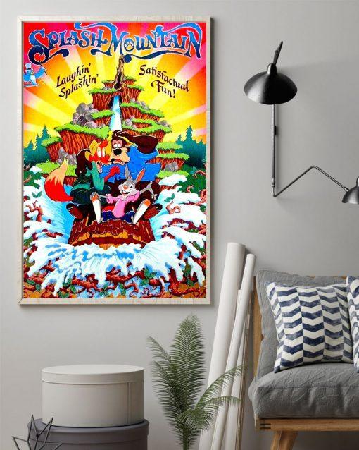 Disneyland Splash Mountain poster1
