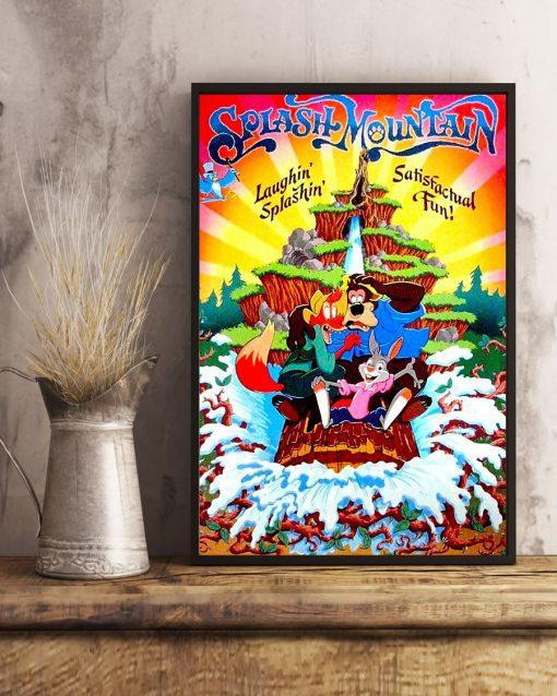 Disneyland Splash Mountain poster3