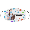Dorothy Gale And Toto There's No Place Like Home Face Mask