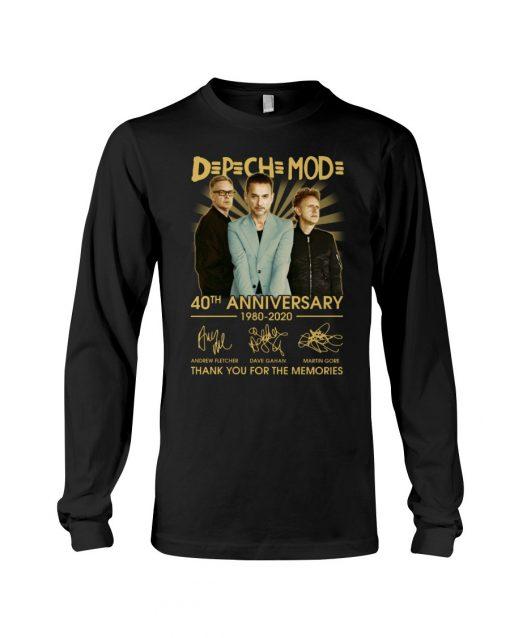 DpCh Mod 40th Anniversary 1980-2020 Long sleeve