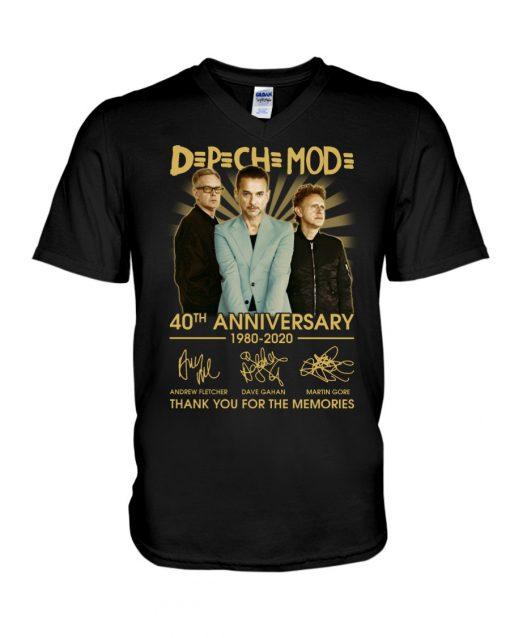 DpCh Mod 40th Anniversary 1980-2020 V-neck