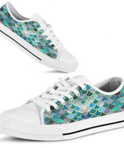 Fin Mermaids Low Top Shoes