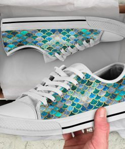 Fin Mermaids Low Top Shoes7