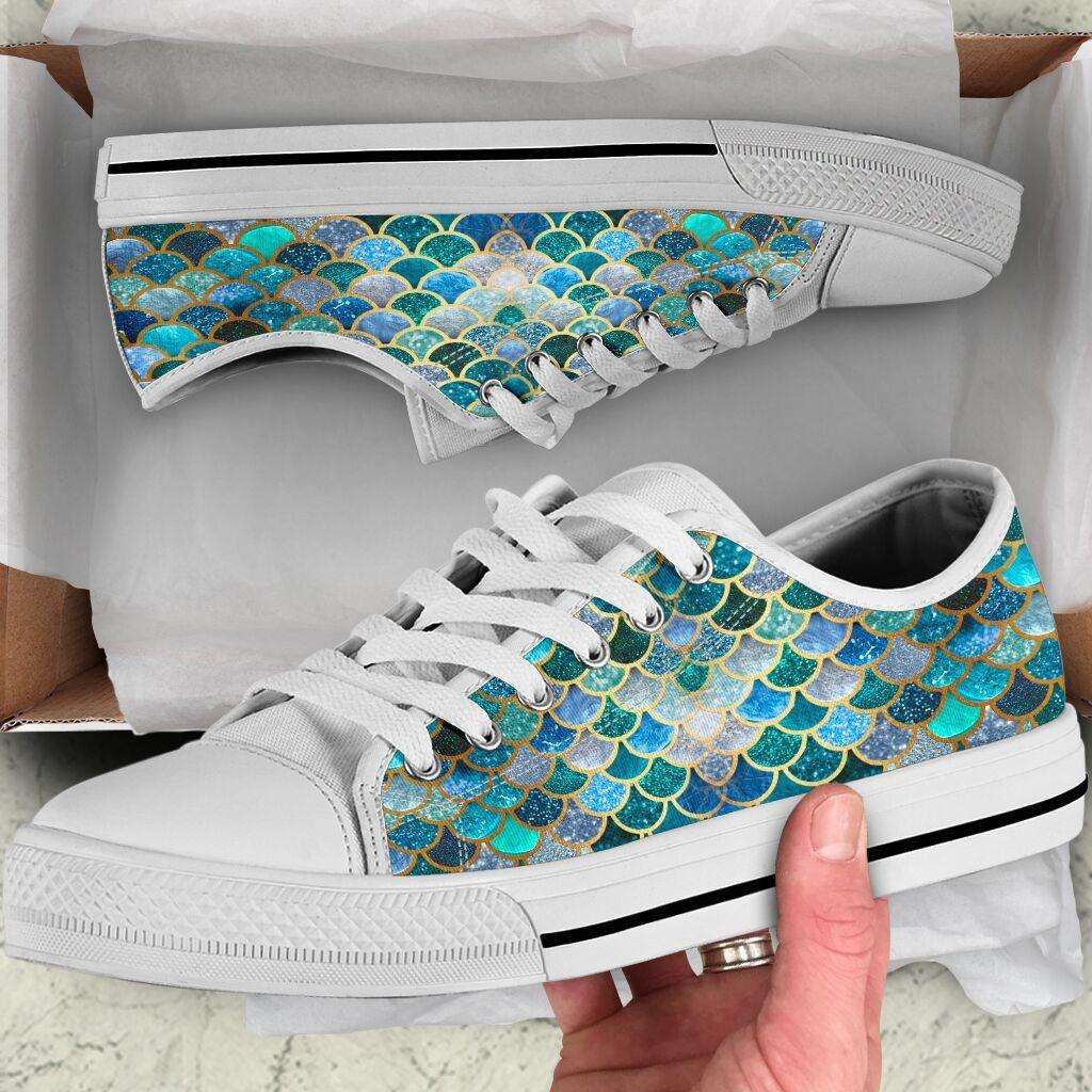 Fin Mermaids Low Top Shoes7