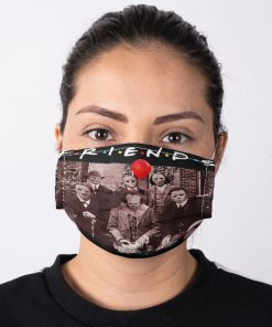 Friends horror movie characters face mask2