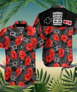 Gamepad Game Controller Hawaiian Shirt