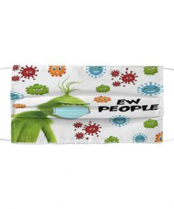 Grinch Ew People face mask1