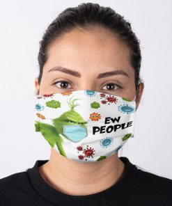 Grinch Ew People face mask2