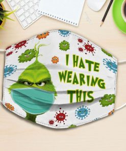Grinch I hate wearing this face mask 0